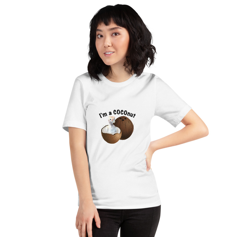I'm a COCOnut Short-Sleeve Unisex T-Shirt Bella