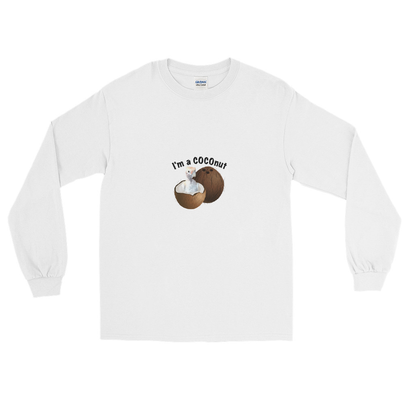 I'm a COCOnut Men's Long Sleeve Shirt